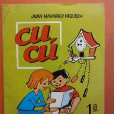 Libros de segunda mano: CUCÚ. 1ª PARTE. JUAN NAVARRO HIGUERA. EDITORIAL MIGUEL A. SALVATELLA. Lote 213627778