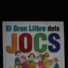 Libros de segunda mano: EL GRAN LLIBRE DELS JOCS, PARRAMÓN EDICIONES ISBN 8434220873, 97884342208. Lote 213629776