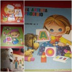 Libros de segunda mano: LOTE 6 EL ARTISTA PRODIGIO PARA PINTAR Y APRENDER A DIBUJAR FIGURAS EDITORIAL ROMA 1967. Lote 213632986