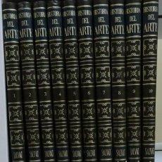 Libros de segunda mano: ENCICLOPEDIA SALVAT HISTORIA DEL ARTE 10 TOMOS BUEN ESTADO. Lote 213657153