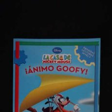 Libros de segunda mano: LA CASA DE MICKEY MOUSE ¡ ÁNIMO GOOFY !, BEASCOA, ISBN 9788448827670. Lote 213658495