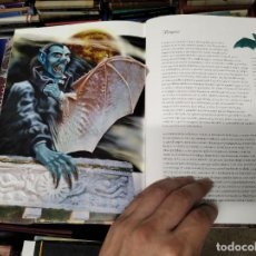 Libros de segunda mano: EL LIBRO DE LOS SERES IMAGINARIOS . ILUSTRACIONES ROMÁN ÁLVAREZ . LIBSA . 2009. VAMPIROS ,NINFAS. Lote 213671635
