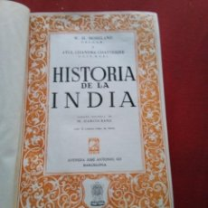 Libros de segunda mano: HISTORIA DE LA INDIA EDICCION SURCO 1964. Lote 213735081