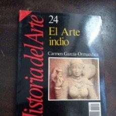 Libros de segunda mano: CARMEN GARCÍA-ORMAECHEA: EL ARTE INDIO (HISTORIA 16). Lote 213773627