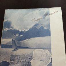 Libros de segunda mano: AMPLIOS HORIZONTES, MARÍA DEL MAR 1954, VER. Lote 213795770