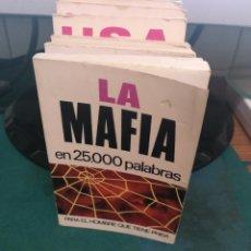 Libros de segunda mano: LA MAFIA EN 25000 PALABRAS 13. Lote 213828166