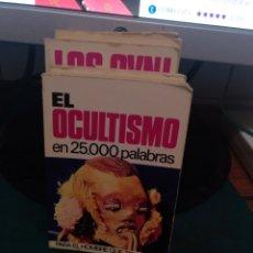 Libros de segunda mano: EL OCULTISMO EN 25000 PALABRAS 48. Lote 213828200