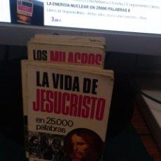 Libros de segunda mano: LA VIDA D JESUCRISTO EN 25000 PALABRAS 12. Lote 213828507
