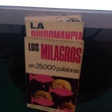 Libros de segunda mano: LOS MILAGROS EN 25000 PALABRAS 72. Lote 213828576