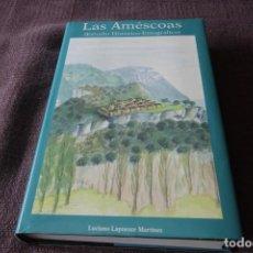Libros de segunda mano: LAS AMÉSCOAS, ESTUDIO HISTÓRICO ETNOGRÁFICO - LUCIANO LAPUENTE MARTÍNEZ. Lote 213857581