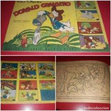 Libros de segunda mano: CUADERNO DONALD GRANJERO COLECCION CUADRITOS Nº 1 . EDITORIAL ABRIL BUENOS AIRES 1948. Lote 213885290