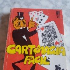 Libros de segunda mano: CARTOMAGIA FACIL DE ALFREDO FLORENSA CASASUS VOLUMEN II EDICIONS MARRÉ 1981. Lote 213932866