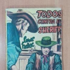 Libros de segunda mano: TODOS CONTRA EL SHERIFF. LEWIS HAROC. MUSTANG. 1959. Lote 214026806
