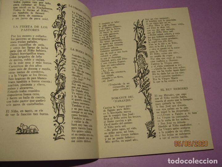 Libros de segunda mano: Antiguo Libro Canciones Navideñas Editorial ALCIDES e Ilustraciones de DIVORI del Año 1939 - Foto 3 - 214035486