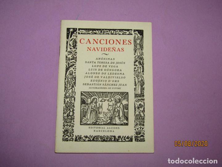 Libros de segunda mano: Antiguo Libro Canciones Navideñas Editorial ALCIDES e Ilustraciones de DIVORI del Año 1939 - Foto 6 - 214035486