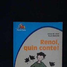 Libros de segunda mano: RENOI, QUIN CONTE !, L'ARCA DE JUNIOR TREN DE FUSTA, ISBN 8447803546, 9788447803545. Lote 214044951
