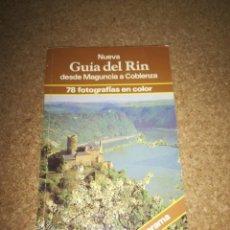 Libros de segunda mano: GUIA DEL RIN DESDE MAGUNCIA A COBLENZA 1981. Lote 214068621