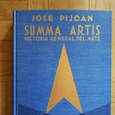 Libri di seconda mano: SUMMA ARTIS.. VOL. XI. EL ARTE GÓTICO DE LA EUROPA OCCIDENTAL, SIGLOS XIII, XIV Y XV.. Lote 236557265