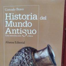 Libros de segunda mano: HISTORIA DEL MUNDO ANTIGUO - GONZALO BRAVO. ALIANZA. LIBRO NUEVO. Lote 214126182