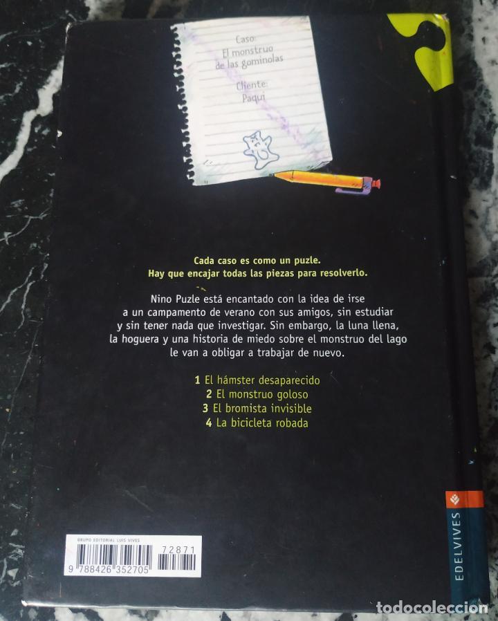 Libros de segunda mano: El monstruo goloso. PRELLER, James. Ed. Edelvives. Nino Puzle - Foto 2 - 214140393