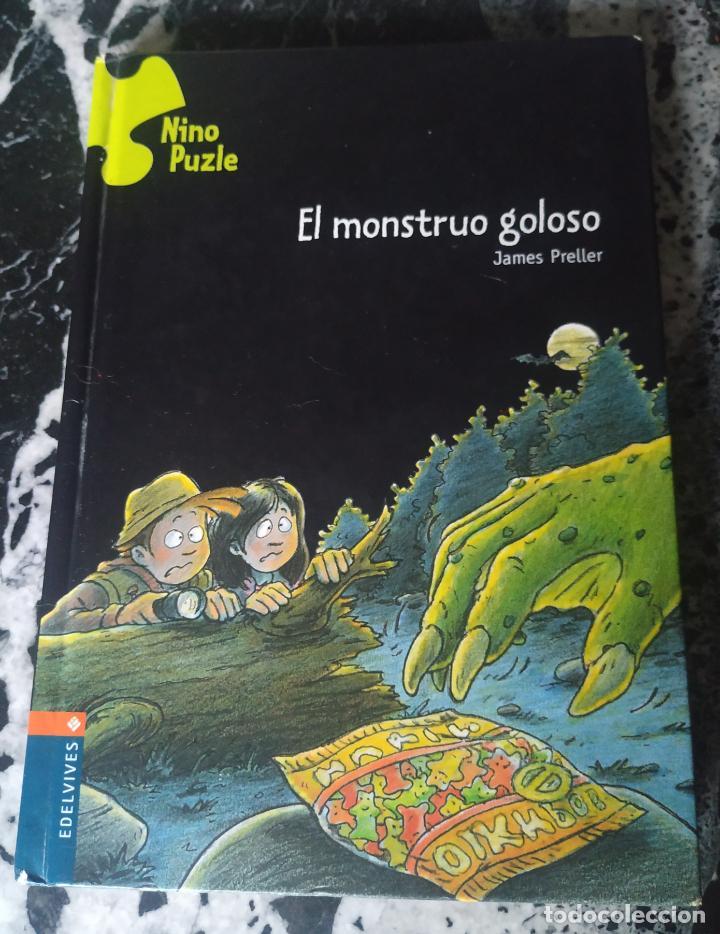 EL MONSTRUO GOLOSO. PRELLER, JAMES. ED. EDELVIVES. NINO PUZLE (Libros de Segunda Mano - Literatura Infantil y Juvenil - Otros)