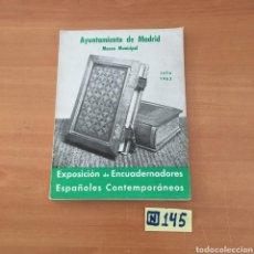 Libros de segunda mano: AYUNTAMIENTO DE MADRID MUSEO MUNICIPAL. Lote 214173368