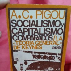Libri di seconda mano: SOCIALISMO Y CAPITALISMO COMPARADOS, A. C. PIGOU. L.3116-639. Lote 214206520