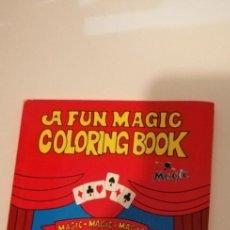 Libros de segunda mano: G-27 LIBRO A FUN MAGIC COLORING BOOK. . FOLIO. MUY ILUSTRADO. MAGIA. Lote 214225953