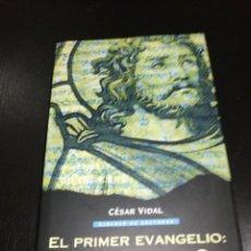 Livres d'occasion: CESAR VIDAL - EL PRIMER EVANGELIO : EL DOCUMENTO Q. Lote 214228507