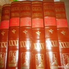 Libros de segunda mano: FRANCISCO RODRÍGUEZ IGLESIAS GALICIA LITERATURA(6 TOMOS) Q2172A. Lote 214255132