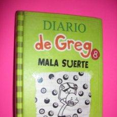 Libros de segunda mano: DIARIO DE GREG : Nº 8 - MALA SUERTE - ED RBA. Lote 214276191