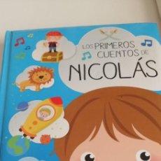 Libros de segunda mano: G-27 LIBRO LOS PRIMEROS CUENTOS DE NICOLAS. Lote 214282766