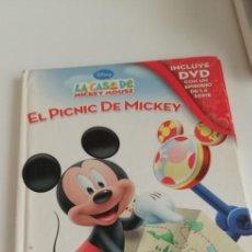 Libros de segunda mano: G-27 LIBRO EL PICNIC DE MICKEY. Lote 214283356