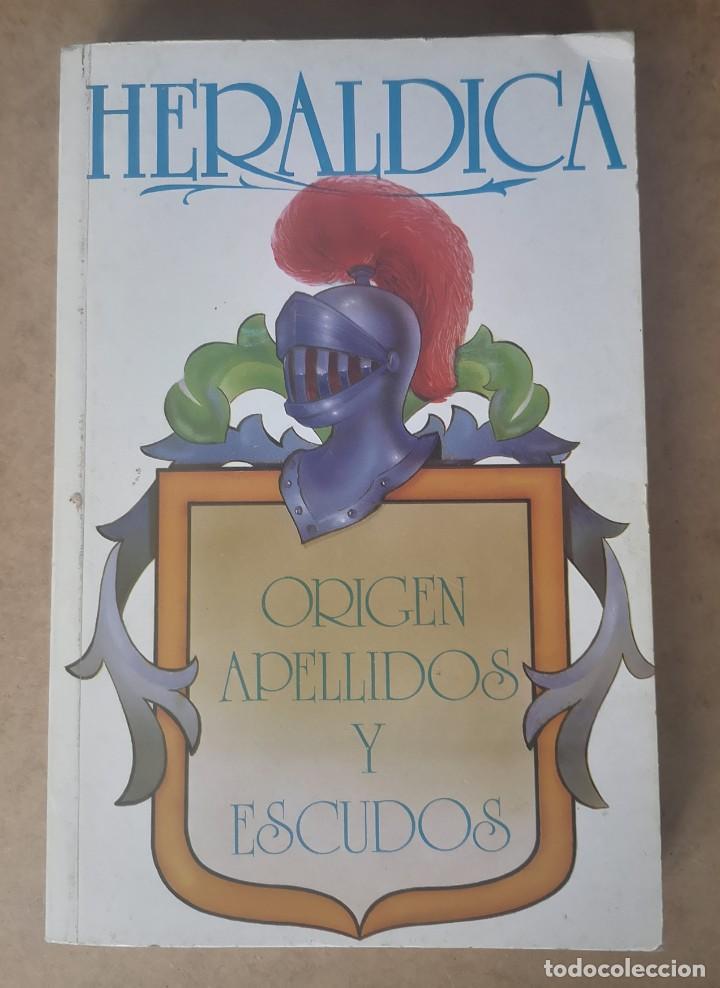 HERÁLDICA. ORIGEN APELLIDOS Y ESCUDOS. BUENO TELLO, ANTONIO. (Libros de Segunda Mano - Historia - Otros)