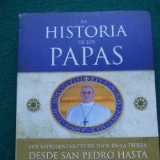 Libros de segunda mano: HISTORIA DE LOS PAPAS. Lote 214323443