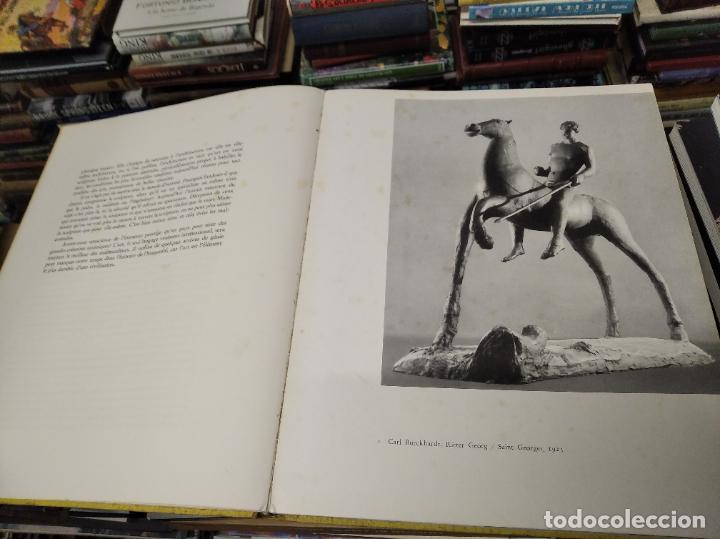 Libros de segunda mano: LA SCULPTURE MODERNE EN SUISSE .MARCEL JORAY. 1955. EJEMPLAR NUMERADO . GIACOMETTI , MÜLLER , - Foto 4 - 214335898