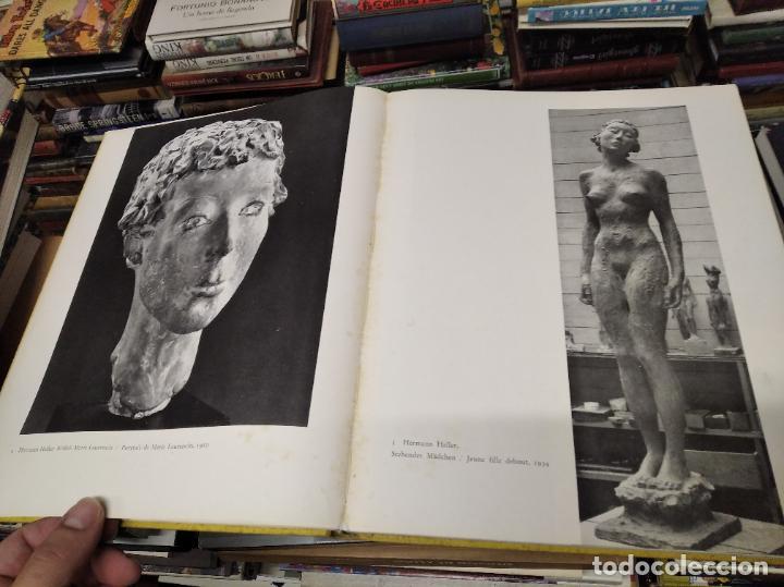 Libros de segunda mano: LA SCULPTURE MODERNE EN SUISSE .MARCEL JORAY. 1955. EJEMPLAR NUMERADO . GIACOMETTI , MÜLLER , - Foto 5 - 214335898