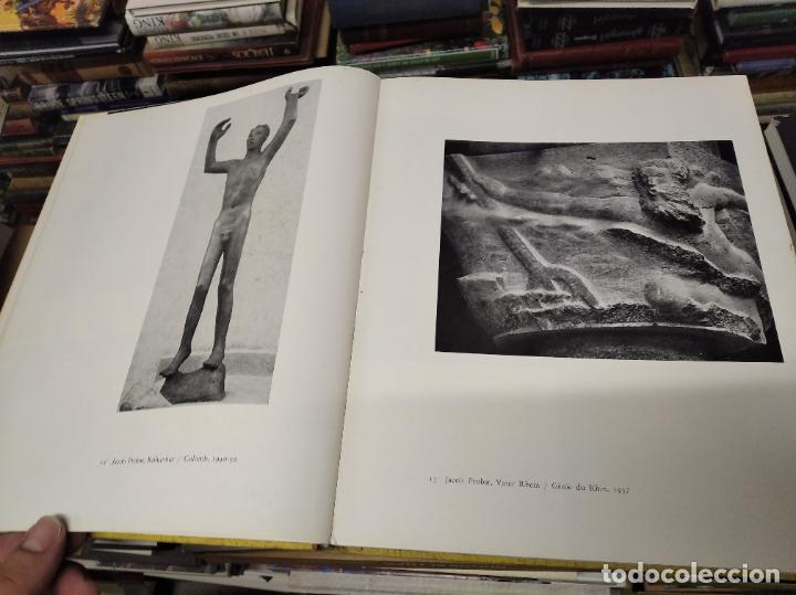 Libros de segunda mano: LA SCULPTURE MODERNE EN SUISSE .MARCEL JORAY. 1955. EJEMPLAR NUMERADO . GIACOMETTI , MÜLLER , - Foto 6 - 214335898