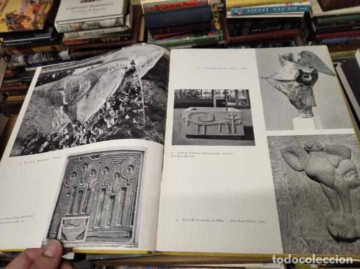 Libros de segunda mano: LA SCULPTURE MODERNE EN SUISSE .MARCEL JORAY. 1955. EJEMPLAR NUMERADO . GIACOMETTI , MÜLLER , - Foto 8 - 214335898