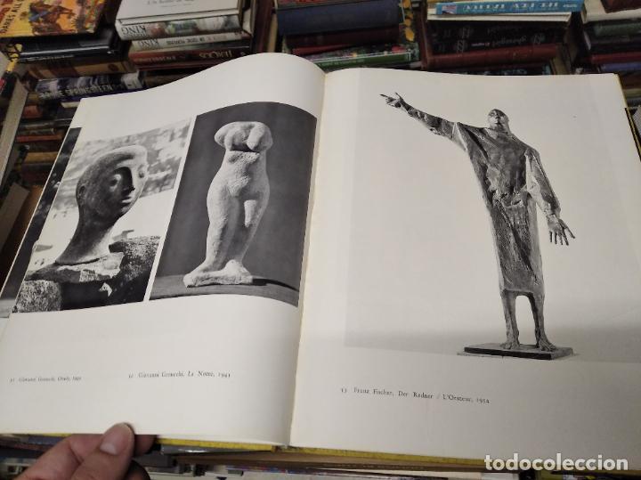 Libros de segunda mano: LA SCULPTURE MODERNE EN SUISSE .MARCEL JORAY. 1955. EJEMPLAR NUMERADO . GIACOMETTI , MÜLLER , - Foto 10 - 214335898