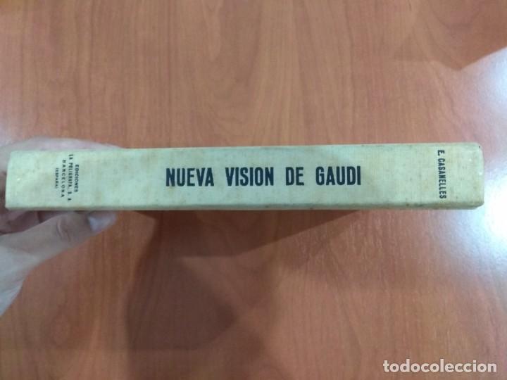 NUEVA VISIÓN DE GAUDÍ. E. CASANELLES. EDICIONES LA POLIGRAFA, S.A. BARCELONA. 1965. (Libros de Segunda Mano - Bellas artes, ocio y coleccionismo - Otros)