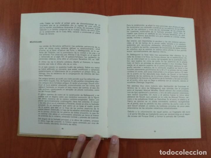 Libros de segunda mano: NUEVA VISIÓN DE GAUDÍ. E. CASANELLES. EDICIONES LA POLIGRAFA, S.A. Barcelona. 1965. - Foto 5 - 214351947
