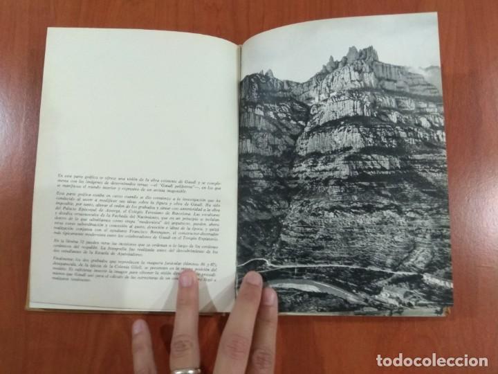 Libros de segunda mano: NUEVA VISIÓN DE GAUDÍ. E. CASANELLES. EDICIONES LA POLIGRAFA, S.A. Barcelona. 1965. - Foto 6 - 214351947