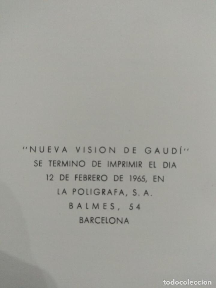 Libros de segunda mano: NUEVA VISIÓN DE GAUDÍ. E. CASANELLES. EDICIONES LA POLIGRAFA, S.A. Barcelona. 1965. - Foto 9 - 214351947
