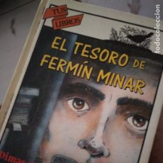 Libros de segunda mano: EL TESORO DE FERMÍN MINAR. DIMAS MAS. ANAYA, TUS LIBROS 123,. Lote 214368505