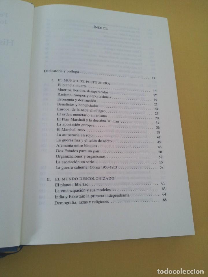 Libros de segunda mano: FERNANDO GARCIA CORTAZAR Y JOSE MARIA LORENZO ESPINOSA - HISTORIA DEL MUNDO ACTUAL 1945-1994 - Foto 3 - 214400295
