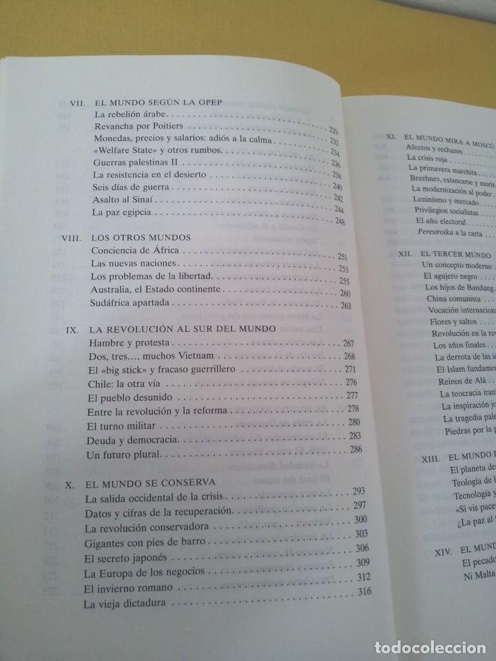 Libros de segunda mano: FERNANDO GARCIA CORTAZAR Y JOSE MARIA LORENZO ESPINOSA - HISTORIA DEL MUNDO ACTUAL 1945-1994 - Foto 6 - 214400295