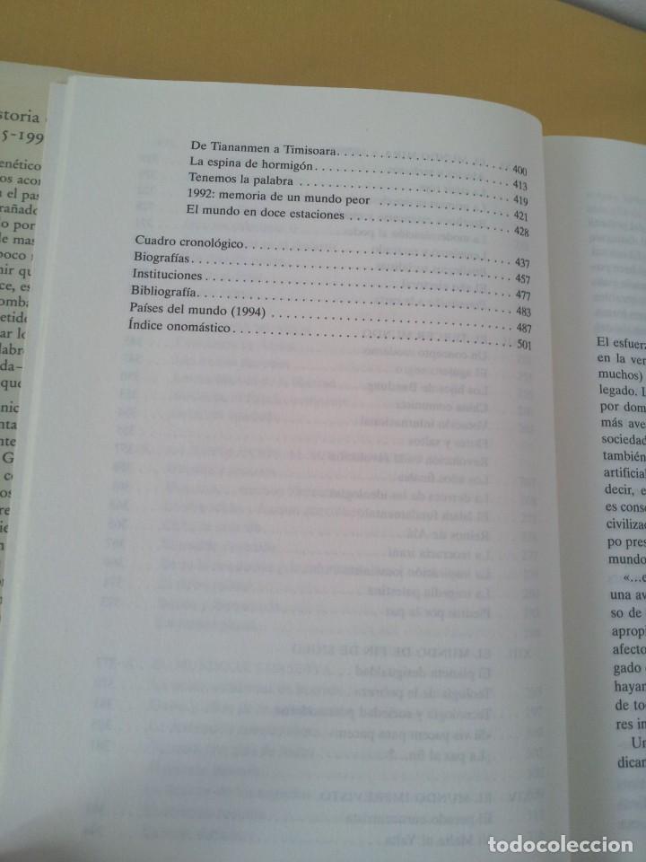 Libros de segunda mano: FERNANDO GARCIA CORTAZAR Y JOSE MARIA LORENZO ESPINOSA - HISTORIA DEL MUNDO ACTUAL 1945-1994 - Foto 8 - 214400295