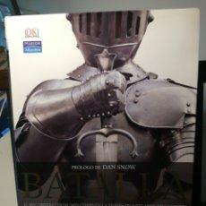Libros de segunda mano: BATALLA, EL RECORRIDO VISUAL MÁS COMPLETO A TRAVÉS DE 5000 AÑOS DE COMBATES/R.G. GRANT/PEARSON, 2007. Lote 214401553