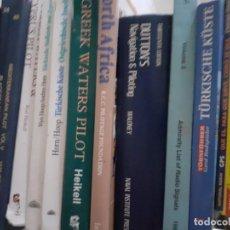 Libros de segunda mano: LOTE LIBROS PATRON BARCO PILOTAJE COSTA GRIEGA TURCA ADRIATICO. Lote 214427525